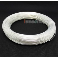 100m Acrolink Silver Plated 6N OCC Signal Hi-res Wire Cable 0.3mm2 Dia:1.1mm For DIY