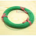 Green 100m 30AWG Pailic Silver Plated + 5n OCC Signal Hi-Res Wire Cable 7/0.1mm2 Dia:0.65mm For DIY ...