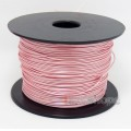 Pink 100m 32AWG Acrolink Silver Plated With Shielding Layer Signal hi-res Wire Cable 7/0.1mm2 Dia:0.96mm For DIY
