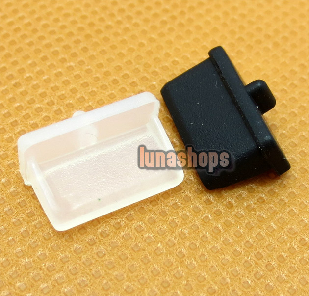 2pcs Silica Gel Dustproof dustfree dust prevention Plug Adapter For USB-A1 Female port