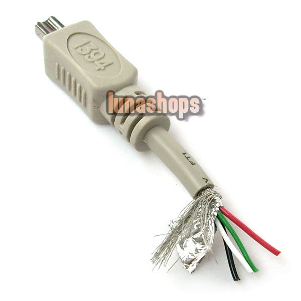 USB to IEEE 1394 4 pin Firewire i-Link DV Cable PC