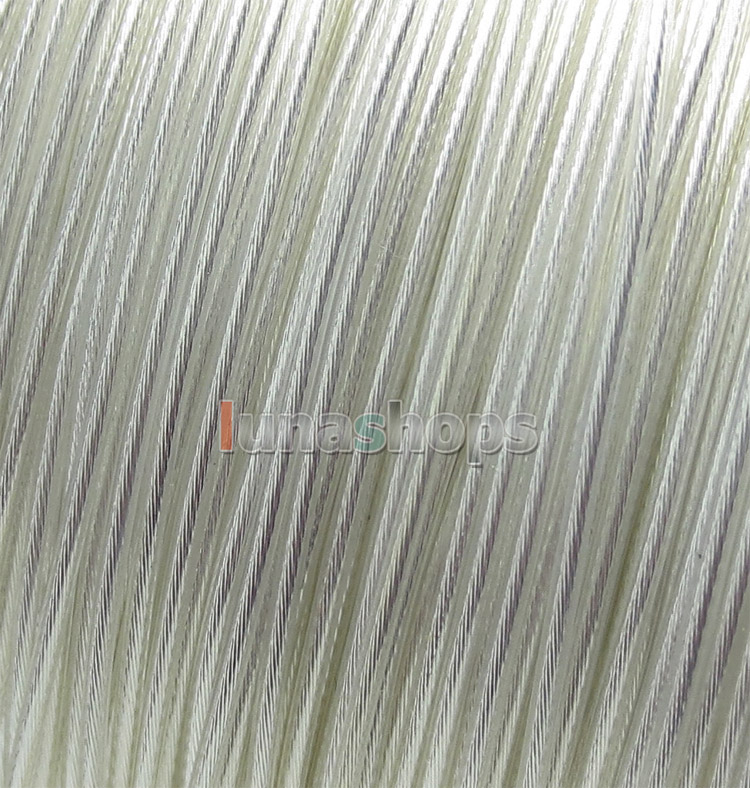 100m 27AWG Acrolink Pure Silver Gold Signal Teflon Wire Cable 19 008mm2