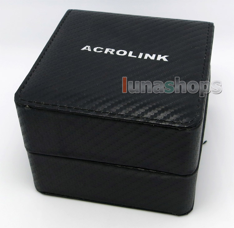 Acrolink P-50 EU Male Speaker Cable Power Plug Adapter