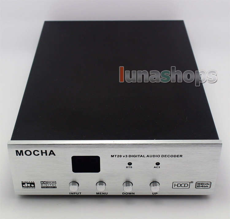 V3 MOCHA MT-20 MT20 20 5.1 CH Digital Audio Sound Decoder
