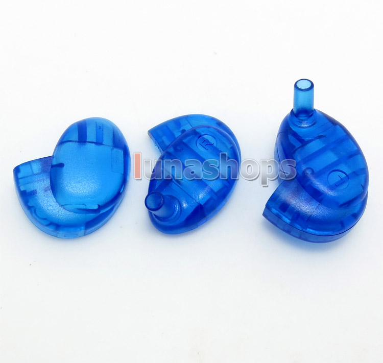 1 pair Custom Shell For Westone W4r + Shure se535 Shape Female Slot 0.78mm Female Pin