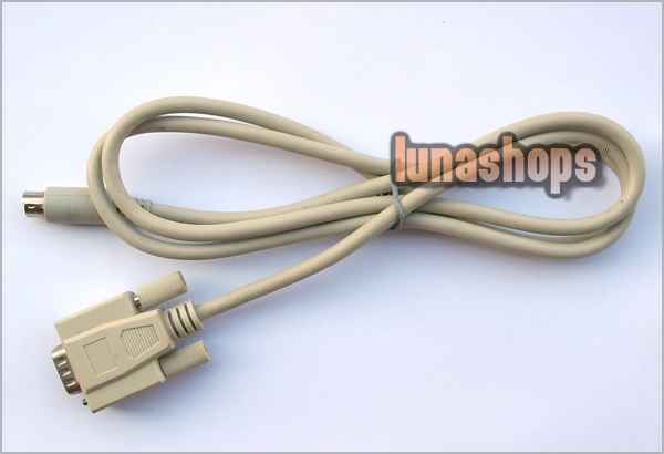 15 pins VGA D-Sub to SVideo S-Video Cable Male