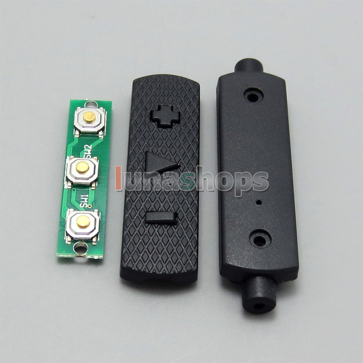 1set Hifi Mic Volume Control Remote Adapter DIY Parts For Iphone Itouch Ipad Seires Mobilephone