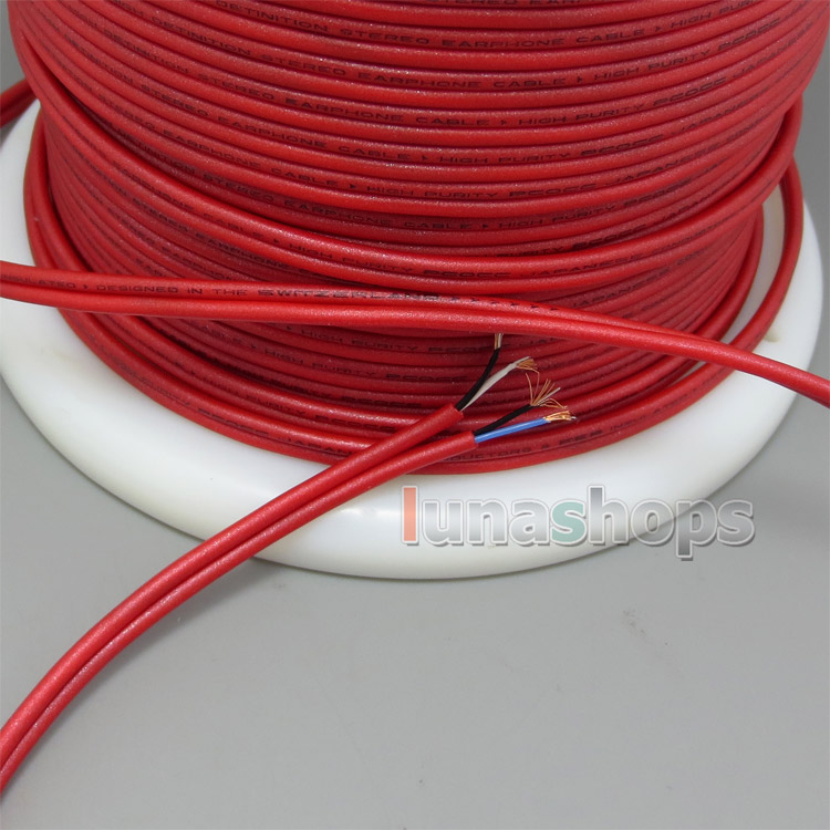 40cm High Purity PCOCC Stereo Earphone DIY Bulk Cable With Japanese Conductors + PEP Insulated