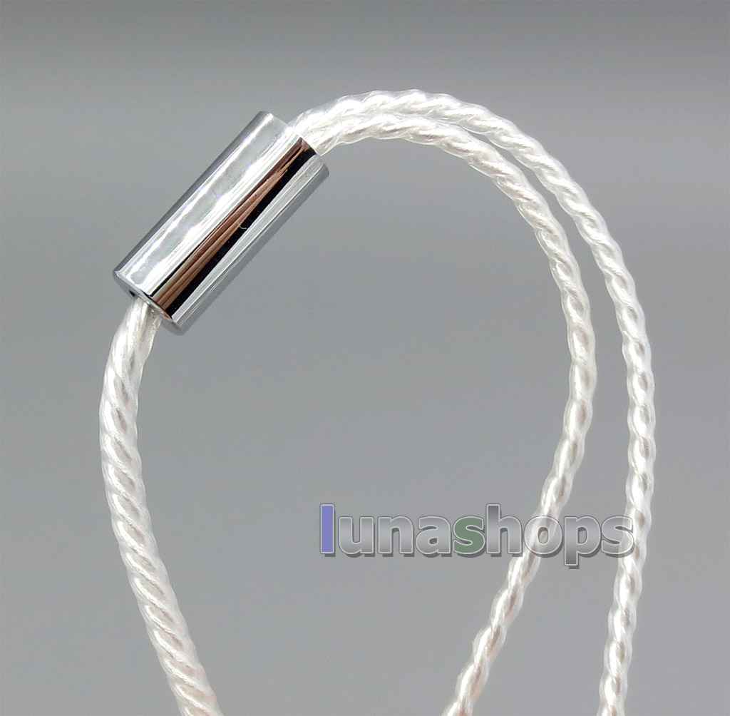 3.5mm Silver Plated TRRS Re-Zero Balanced Plug To 2 XLR Cable For Headphone Amplifier