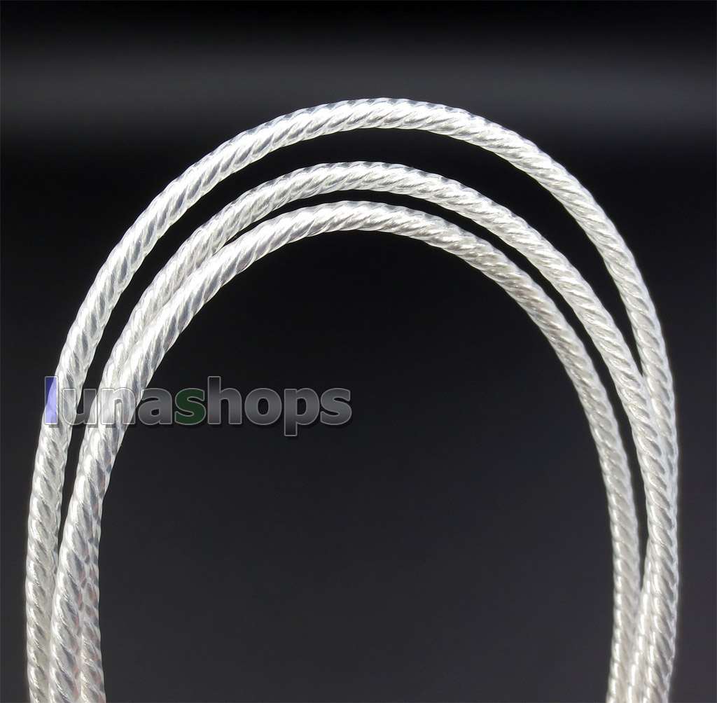 3.5mm Silver Plated TRRS Re-Zero Balanced To 4pin XLR Female Cable For Headphone Amplifier