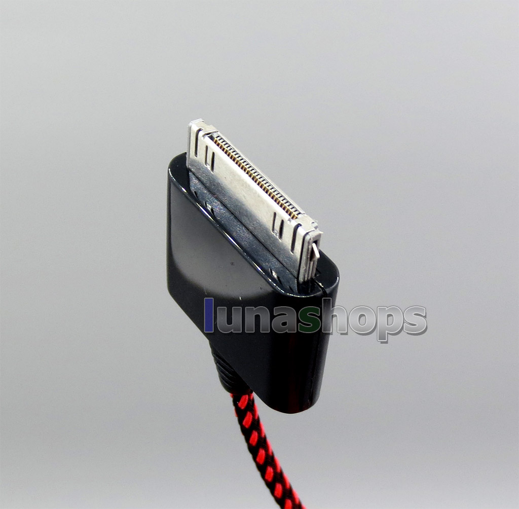 3.5mm to Ipad Iphone 4 Sansa Line out cable HPC-22W PCOCC-A