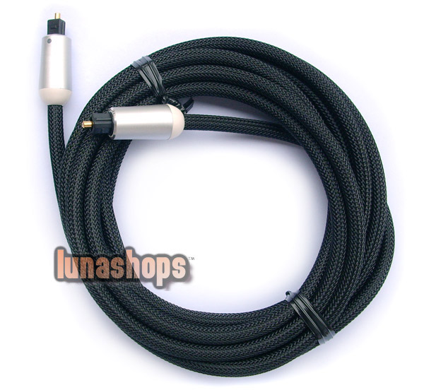 300CM OPTICAL FIBER OPTIC TOSLINK DIGITAL AUDIO CABLE SONY