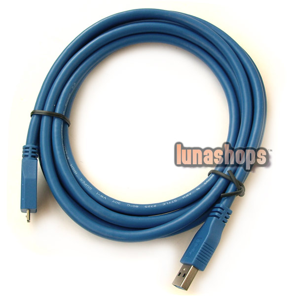 10FT 3M Standard USB 3.0 Male Type A to Micro-B Plug Super-Speed Cable Adapter