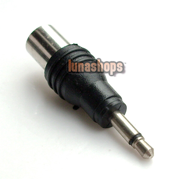 Male 3.5mm To RF Antenna CATV TV FM Male Plug Adapter