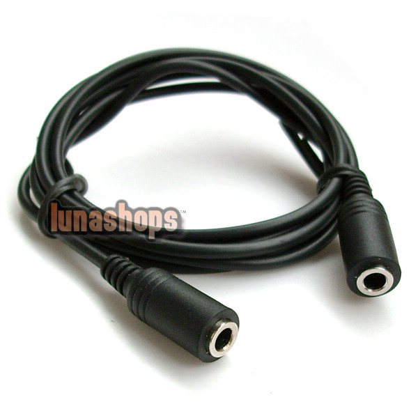 3.5MM FEMALE TO 3.5 MM FEMALE CONNECTOR ADAPTER CABLE