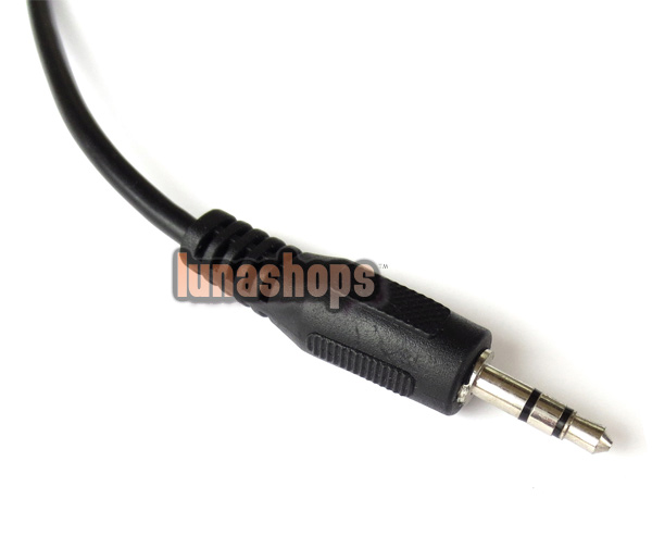 3.5mm 1 male To 4 Female Splitter Audio Stereo Cable For Earphone Test comparison