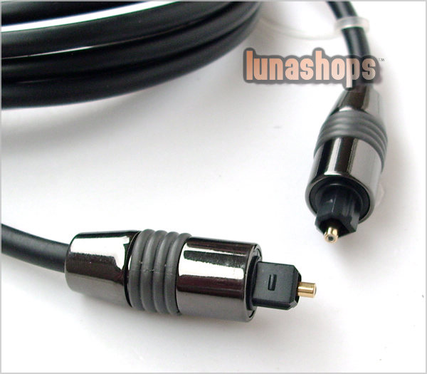 OPTICAL FIBER OPTIC TOSLINK DIGITAL AUDIO CABLE 3M 9FT