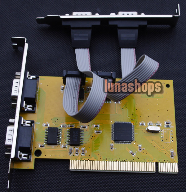 4 Ports RS-232 RS232 Serial COM to PCI Card Adapter Converter