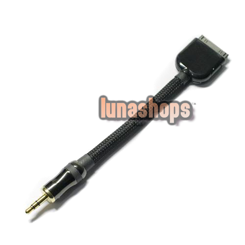 Harmonic TECH Pro-9 PC OCC 3.5mm male to Ipod Dock Socket Cable DIY