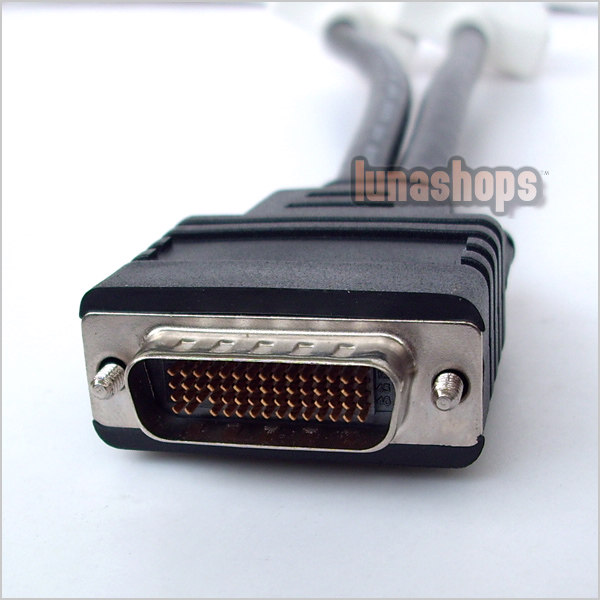 DMS-59 Pin to 2 DVI 24+5 Female Converter Adapter Cable