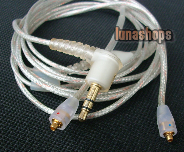 Replacement Detachable Earphones Headphone Cable For Shure SE535