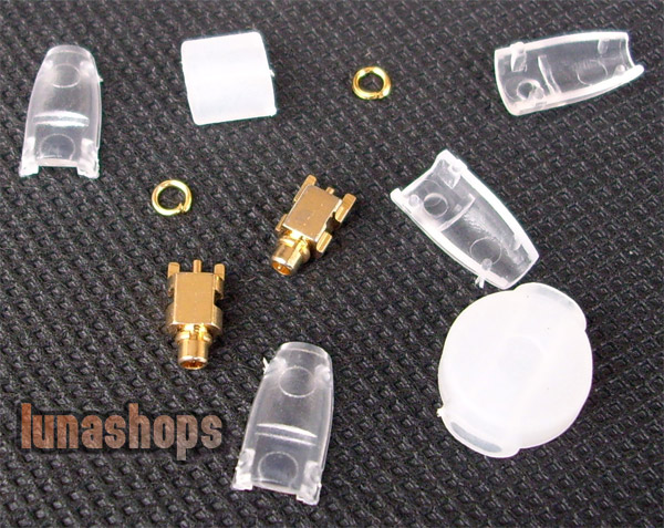 Korea Mould Series-Shure SE535 SE425 SE315 SE215 Earphone Pins With Cover Transparence