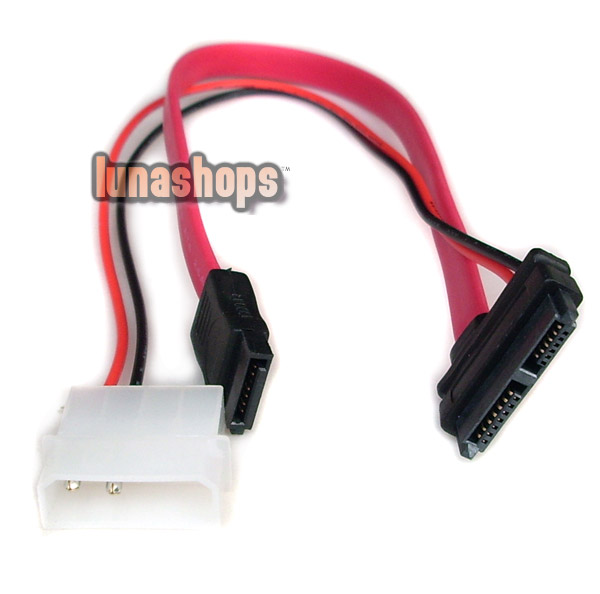 7+6 13 pin female to Serial ATA SATA Data IDE Power Cable