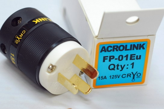 Acrolink refrigeration Series FP-01 Speaker Cable Power Plug Adapter Male