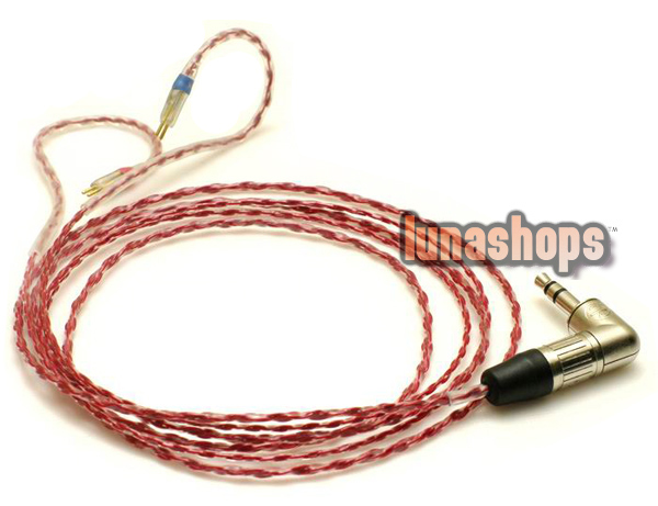 Oxygen Free Copper Silver Plated Cable Ultimate UE 5 pro 10pro Earphone