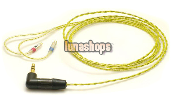 For Ultimate UE 5-PRO 10-PRO Upgrade  Earphone 7N OFC Cable
