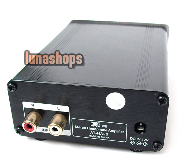 AT-HA20 Stereo Headphone Amplifier Amp MUSE
