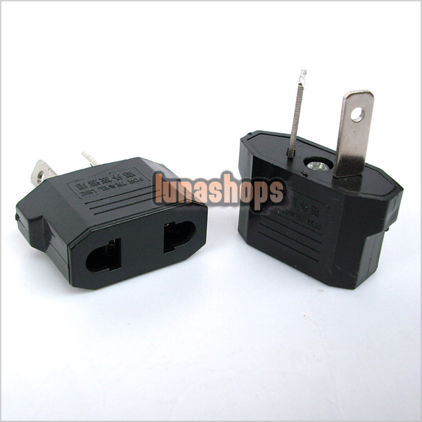 2 pcs US/EU to AU AC POWER PLUG ADAPTER TRAVEL CONVERTER