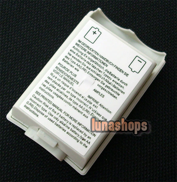 1pcs Battery Pack Cover Shell Case For Xbox 360 Wireless Controller