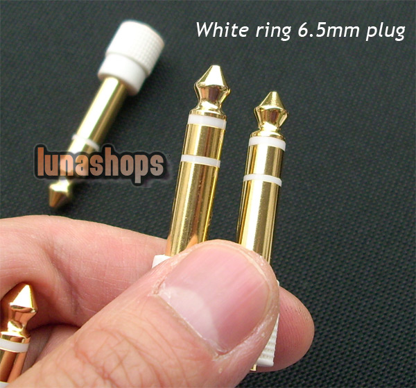 3.5mm Female to 6.5mm Male Stereo Audio Adapter