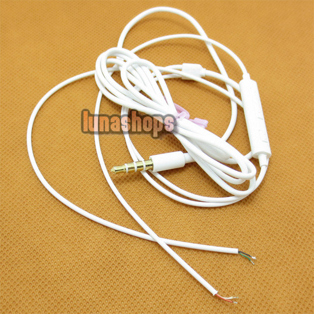 1M Dia 3mm 4 Core Control Wire Shielded Audio Headphone Cable DIY USB JH
