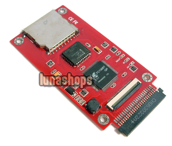 "SD SDHC MMC Card To ZIF CE IDE 1.8"" Converter Adapter"