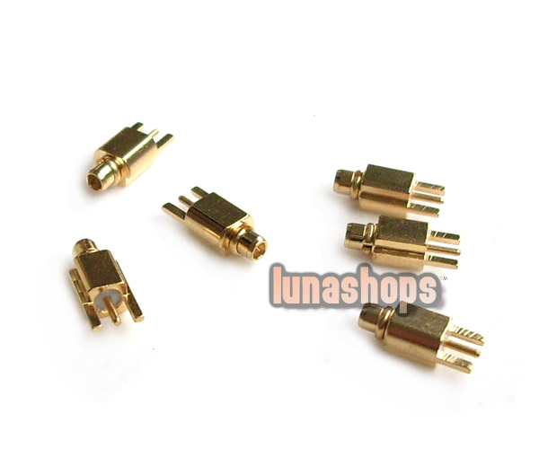 For Shure SE535 SE425 SE315 SE215 Earphone Upgrade Cable Male Plug Pins Without Slot