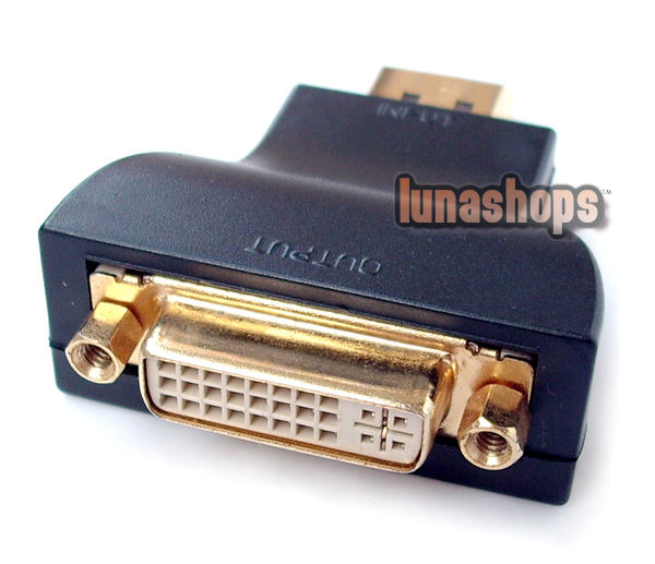 Displayport DP Male to DVI Female Adapter converter new Price