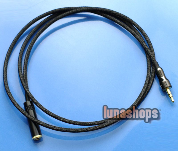 HiFi 3.5mm male to female extension Cable