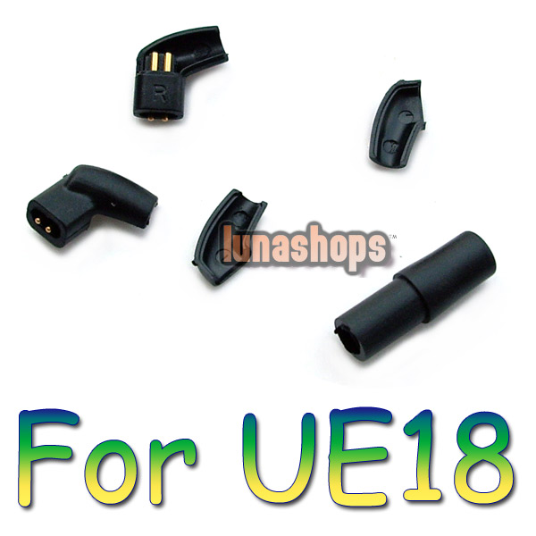 L Shape Earphone Pins Jack For Ultimate UE UE18PRO 11PRO 10PRO 7PRO 4PRO DIY Cable