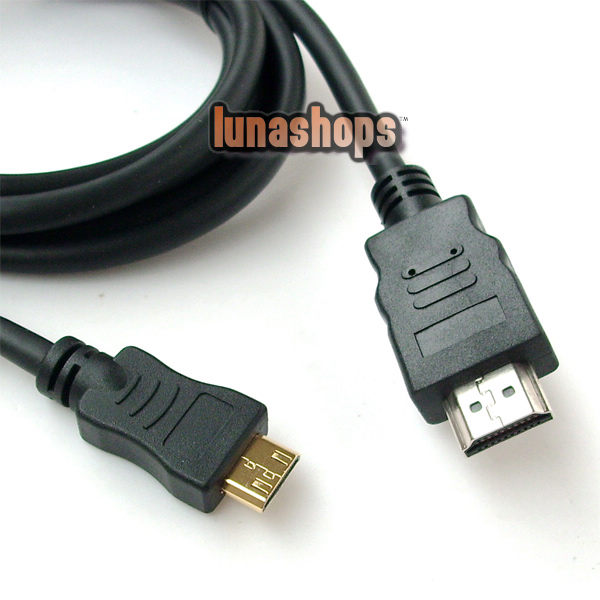 Mini HDMI to HDMI Digital Video Cable for Sony Camera