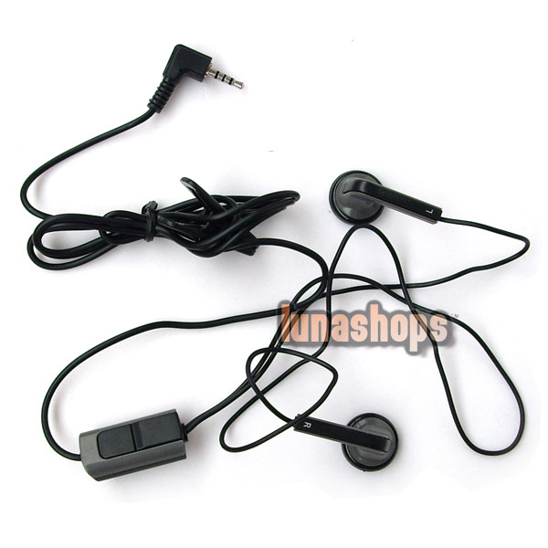 Black Stereo Earphone/Headse​t HS-47 for Nokia 5300 6500