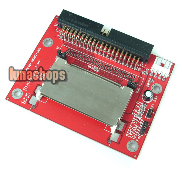 "CF Card To 40 44 Pin 2.5"" 3.5"" IDE SSD HDD Male Adapter"