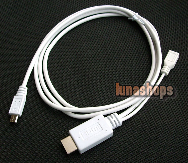 Samsung Galaxy S3 i9300 MHL Micro USB HDMI Male cable