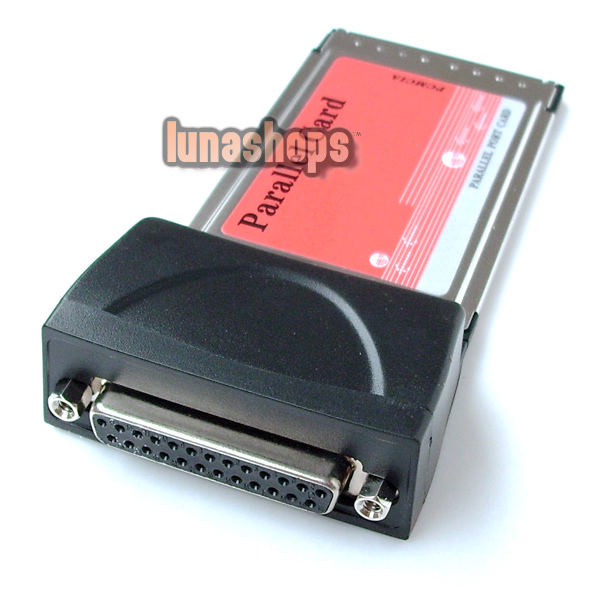 Parallel DB25 Printer to CardBus PCMCIA PC Card Adapter