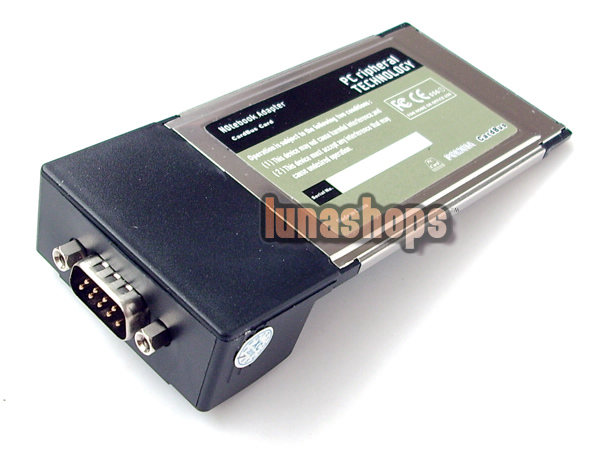 PCMCIA to RS-232 Serial DB9 CardBus Adapter Card Laptop