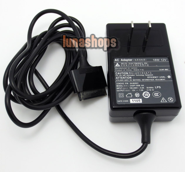 AC Wall Charger Power Adapter For Lenovo IdeaPad S1 K1 Y1011 10.1 Tablet ADP-40TH A