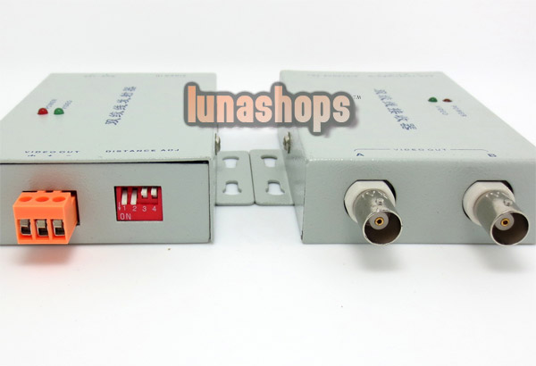 CCTV Security camera Long Distance Range BNC Video Amplifier anti-interference Green version