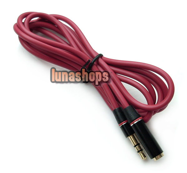 120cm Monster Professional 3.5mm Male to Female Extension Audio cable