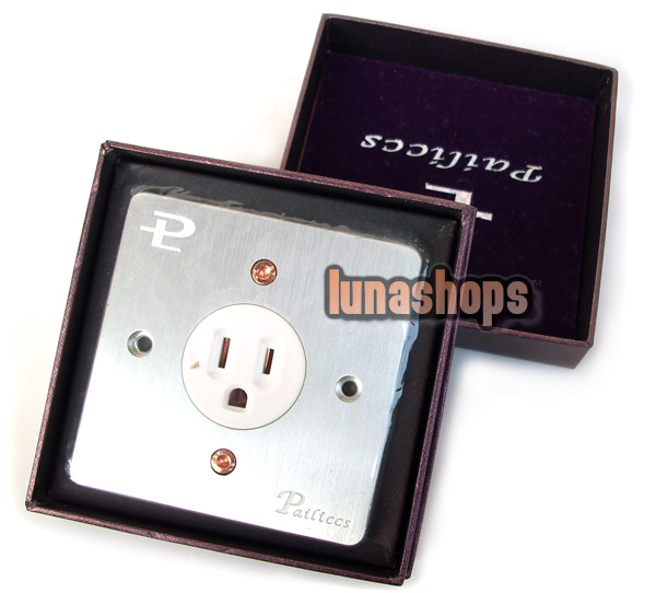 PAILICCS OCC Copper Gold-plated US Power Socket Panel HiFi